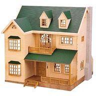 【エントリーでポイント10倍!(12月スーパーSALE限定)】【中古】おもちゃ [破損品/付属品欠品] 緑の丘のすてきなお家 「シルバニアファミリー」