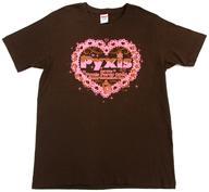 【中古】Tシャツ(女性アイドル) Pyxis Tシャツ ブラウン XLサイズ 「Pyxis 1st Live Pyxis Party 2016~Happy Valentine's Day~」