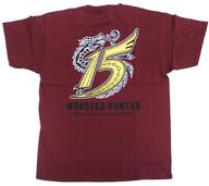 【中古】Tシャツ(キャラクター) ミラボレアス(限定カラー) Tシャツ ダークレッド XLサイズ 「MONSTER HUNTER×NAKED モンスターハンター15周年展 -THE QUEST-」