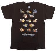 【中古】Tシャツ(キャラクター) 歴代タイトルロゴ(限定カラー) Tシャツ ブラウン XLサイズ 「MONSTER HUNTER×NAKED モンスターハンター15周年展 -THE QUEST-」