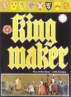 【中古】ボードゲーム [破損品] バラ戦争 英語版 (King Maker) [日本語訳付き]