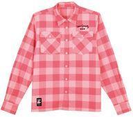 【新品】ポロシャツ・ワークシャツ(キャラクター) 麗日お茶子 カジュアルシャツ ピンク ユニセックスLサイズ 「僕のヒーローアカデミア」【タイムセール】