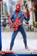 【中古】フィギュア スパイダーマン(スパイダー・パンク・スーツ版) 「Marvel's Spider-Man」 ビデオゲーム・マスターピース 1/6 アクションフィギュア【タイムセール】