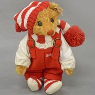 【中古】ぬいぐるみ Little Santa 2004-リトルサンタ2004- テディベア 20cm【タイムセール】