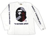 【エントリーでポイント最大19倍!(5月16日01:59まで!)】【中古】衣類 我愛羅 パーカー ホワイト Mサイズ 「NARUTO-ナルト- 疾風伝 BAPE/A BATHING APE×NARUTO&BORUTO」