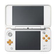 【中古】ニンテンドー3DSハード Newニンテンドー2DS LL本体 ホワイト×オレンジ(状態:microSDHCカード欠品)