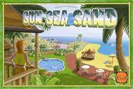 【中古】ボードゲーム 太陽. 海. そして砂 多言語版 (Sun. Sea & Sand) [日本語訳付き]