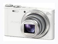 【中古】カメラ デジタルスチルカメラ Cyber-shot 2110万画素 (ホワイト) [DSC-WX300(W)](状態:説明書欠品、箱(内箱含む)状態難)