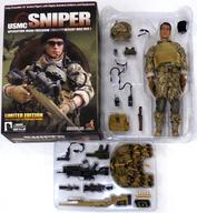 【エントリーでポイント最大19倍!(5月16日01:59まで!)】【中古】フィギュア [破損品] U.S.M.C. Sniper Operation Iraqi Freedom(MCCUU Desert BDU Version) ホットトイズ・ミリタリー 1/6 アクションフィギュア