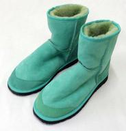 【エントリーでポイント最大19倍!(5月16日01:59まで!)】【中古】シューズ(女性アイドル) 有安杏果(ももいろクローバーZ) MCZ公式Sheepskin boots(ブーツ) グリーン 26cm WEB受注限定