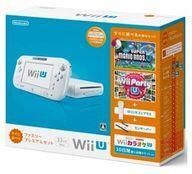 【エントリーでポイント10倍!(3月28日01:59まで!)】【中古】WiiUハード Wii U本体 すぐに遊べるファミリープレミアムセット(シロ)(状態:内箱欠品)