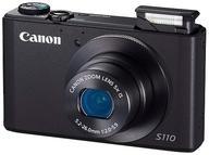 【中古】カメラ Canon デジタルカメラ PowerShot S110 1210万画素 (ブラック) [PSS110(BK)] (状態:箱・インターフェースケーブル・CD-ROM欠品)