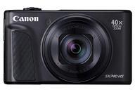 【中古】カメラ Canon コンパクトデジタルカメラ PowerShot SX740 HS 2030万画素 (ブラック) [PSSX740HS(BK)] (状態:箱欠品)