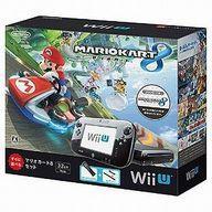 【中古】WiiUハード WiiU本体 マリオカート8セット kuro(状態:GamePad ACアダプタ欠品)