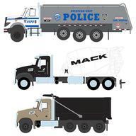 【エントリーでポイント10倍!(3月28日01:59まで!)】【新品】ミニカー 1/64 S.D. Trucks Series 9 6個アソート [45090]