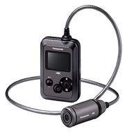 【中古】カメラ パナソニック ウェアラブルカメラ (グレー) [HX-A500-H] (状態:箱欠品)