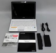 【エントリーでポイント最大27倍!(6月1日限定!)】【中古】PCハード ノート型PC本体 VAIO type F light VGN-FJ10B