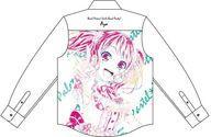 【エントリーで全品ポイント10倍!(9月1日0959まで)】【中古】衣類 丸山彩 Ani-Art フルグラフィックカジュアルシャツ ホワイト ユニセックス XLサイズ 「BanG Dream! ガールズバンドパーティ!」