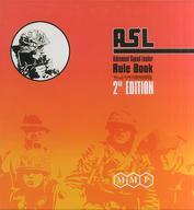 【エントリーでポイント10倍!(9月11日01:59まで!)】【中古】シミュレーションゲーム [日本語訳無し] アドバンスド・スコード・リーダー・ルールズ 第2版 (Advanced Squad Leader Rules Book 2ND EDITION)