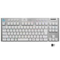 【送料無料】【smtb-u】 【5日24時間限定!エントリーでP最大36.5倍】Windows8以降/MacOS X 10.11以降ハード LIGHTSPEEDワイヤレス RGBメカニカル ゲーミングキーボード G913 (ホワイト) [G913-TKL-TCWH]