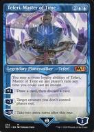 中古 マジックザギャザリング 英語版 神話R 青 基本セット2021 Time Master 時の支配者 :Teferi, 高品質 of 新登場 テフェリー