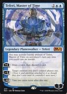 中古 マジックザギャザリング 英語版 神話R 青 基本セット2021 お得セット Time 2020 Master of テフェリー 時の支配者 :Teferi,