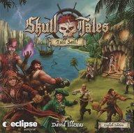 送料無料 smtb-u 中古 ボードゲーム 日本語訳無し スカルテイルズ: フルセイル Full Tales: キックスターター版 Skull 注目ブランド Sail 送料無料新品 kickstarter