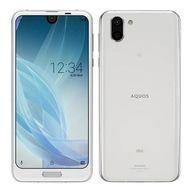 送料無料 高級品 smtb-u 中古 携帯電話 スマートフォン AQUOS R2 SHV42SWA SHV42 プラチナホワイト 正規認証品!新規格