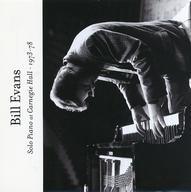 中古 輸入ジャズCD Bill Evans Solo Piano 1973-78 販売実績No.1 輸入盤 Hall 国内即発送 At Carnegie