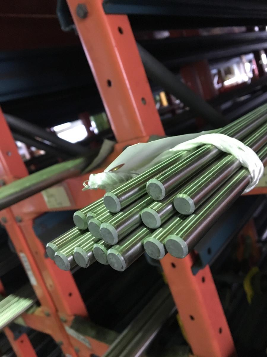 ファクトリーアウトレット DIY 日曜大工 補修などに使用される ステンレスの代表的 驚きの値段 一般鋼種 ステンレス 304 x 300 PL丸棒 φ35 SUS