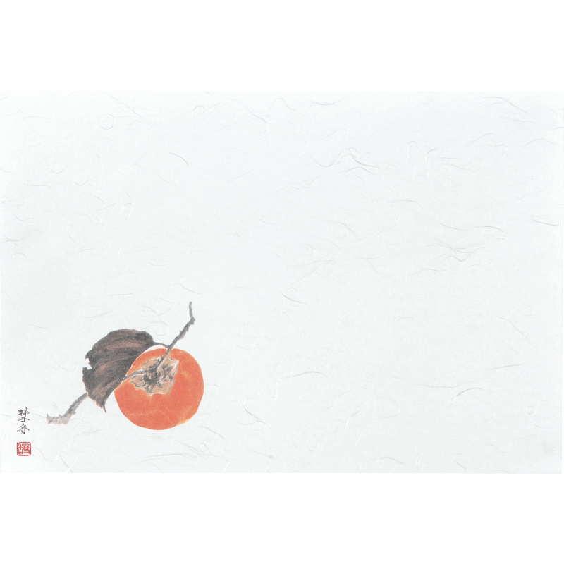 四季 紙ランチョンマット100枚入5セット【ペーパーマット(柿9~11月)】返品不可品[えいむ ランチョンマット 紙製]