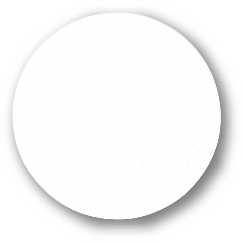 丸型 無地 コースター(200枚入) (8セット)【ZY-9002】返品不可品 [シンビ ドリンク バー コースター 紙]