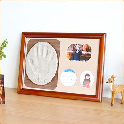 手形足形赤ちゃん,手形、足形、手型、足型、フォトフレーム、、写真立て、出産祝い、パパジーノ、プレシャス・プリント、プリシャス・マイスイート
