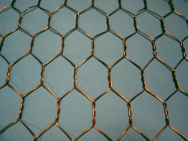銅亀甲金網0.5×10ミリ目×910幅×5m