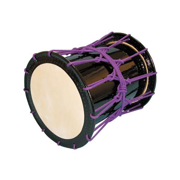 かつぎ桶胴太鼓1.6尺(紫紐)