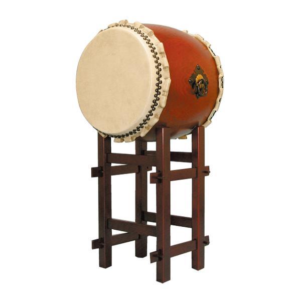 タモくりぬき太鼓1.4尺 高台座セット