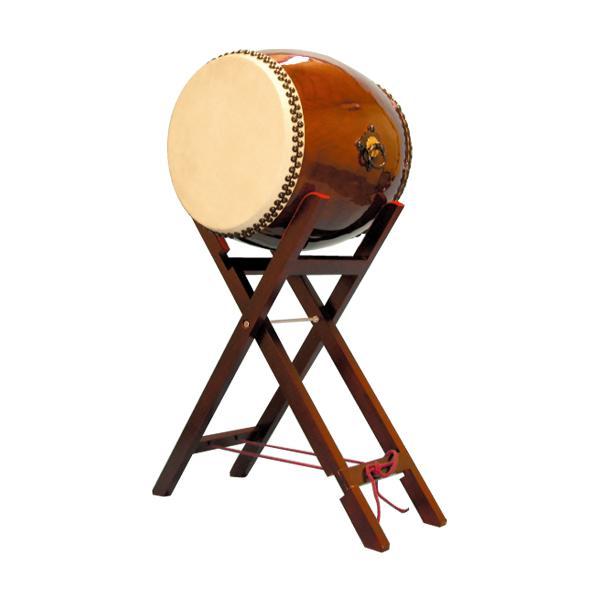 【和太鼓】長胴太鼓1.5尺(耳無し) 八丈台座付き 送料無料