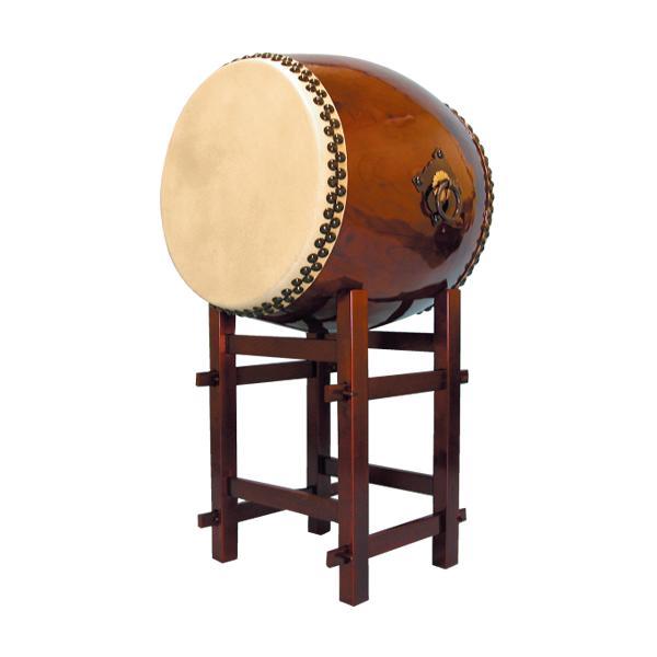 【和太鼓】長胴太鼓1.8尺(耳無し) 高台座付き 送料無料