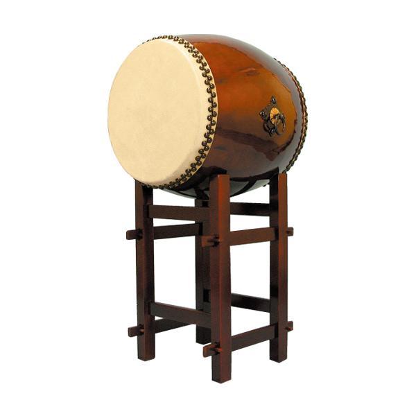 【和太鼓】長胴太鼓1.6尺(耳無し) 高台座付き