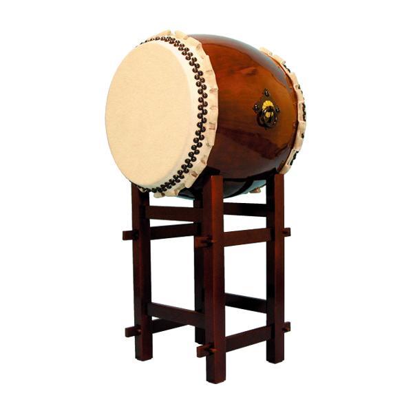 【和太鼓】長胴太鼓『響』1.6尺 高台座付き 送料無料
