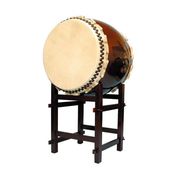 【和太鼓】長胴太鼓2.0尺(巻耳) 高台座付き