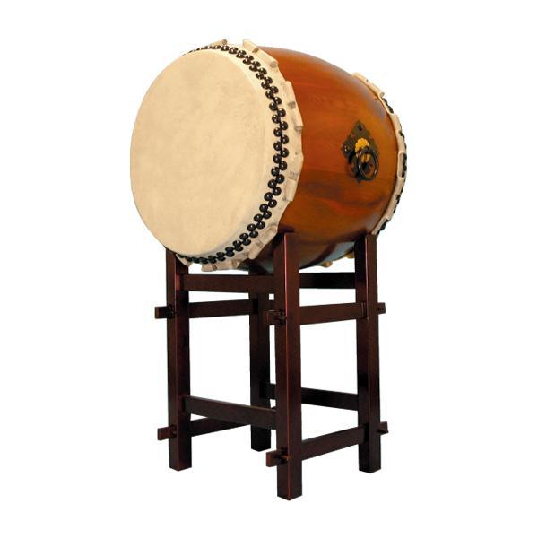 【和太鼓】楡けやき太鼓1.8尺 高台座付き