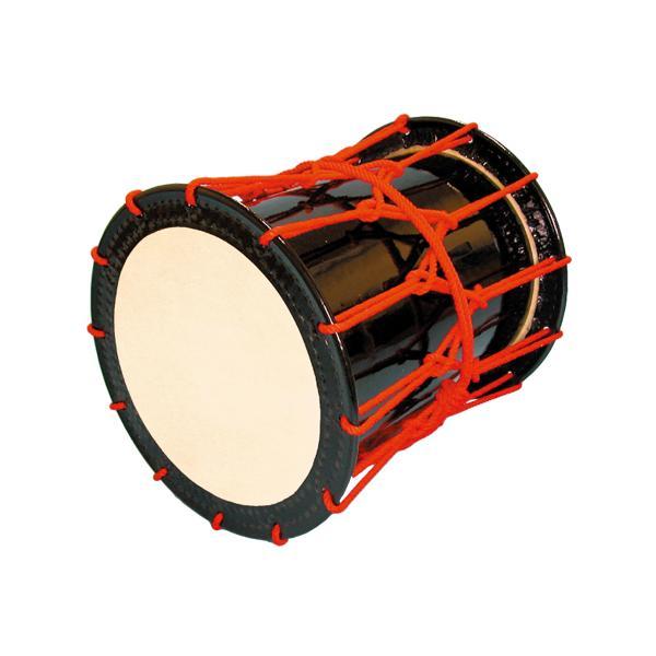 かつぎ桶胴太鼓1.6尺(赤紐) 送料無料