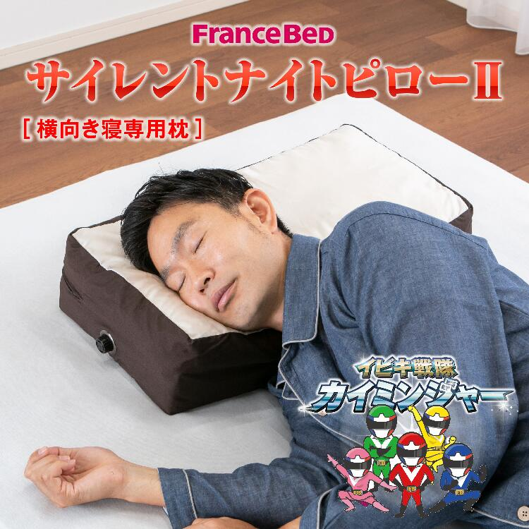 フランスベッド サイレントナイトピロー2 いびき対策枕