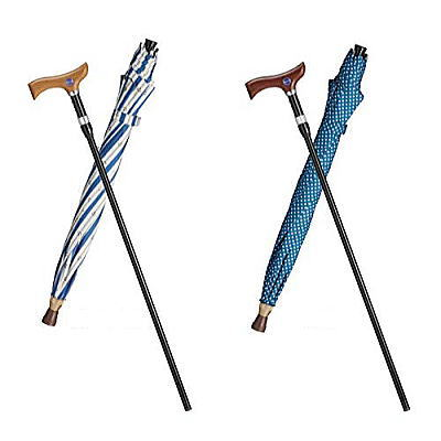 [送料無料]フランスベッド 傘なるステッキ母の日ギフト包装無料対象UVカット機能/傘の支柱に杖を収納[▼送無] RCP
