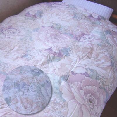 [全商品P5倍]ツインキルト羽毛布団 『グローリア』 シングルサイズ150x210cmシベリア産ホワイトグース95%