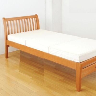[全商品P5倍]FM01 ベッド(ヘッド&フットタイプ)1113-03103クィーンサイズ 163×223×90cm 西川リビング 北欧テイストのベッド[大型個別送料]