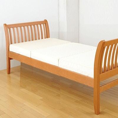 [全商品P5倍]FM01 ベッド(ヘッド&ヘッドタイプ)1113-03095クィーンサイズ 163×230×90cm 西川リビング 北欧テイストのベッド[大型個別送料]