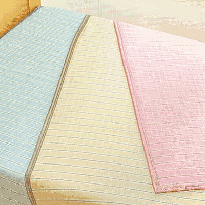日本製 シールガーゼ綿毛布先染めツーフェイスケットSGK1402 シングル(寝具/綿毛布/タオルケット/シングル/ギフト/プレゼント/新生活)