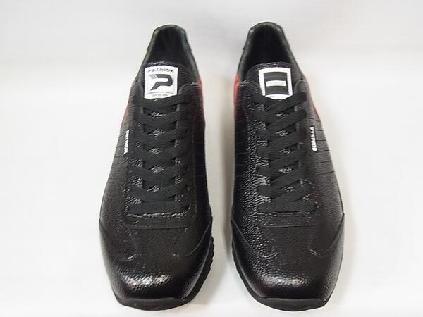 パトリック スニーカー ゴジラ マラソンPATRICK ゴジラ M BLK ブラック メンズ シューズ コラボスニーカー 日本製 限定品 靴 719501A45q3jLR